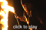 Click for fire whip video